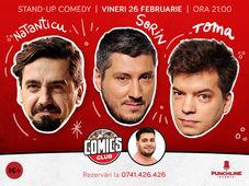 Stand-up cu Natanticu, Toma si Sorin la ComicsClub! Show 2