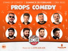 Props Comedy la ComicsClub!