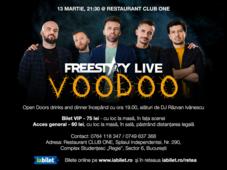 Concert Freestay live la Restaurant One Club