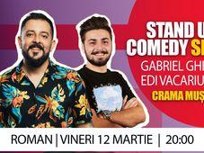 Roman: Stand Up Comedy la Cramă | Gabriel Gherghe & Edi Vacariu