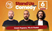 Stand up comedy la Club 99 cu Cristi Popescu, Vio si Costel Show 1
