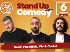 Stand up comedy la Club 99 cu Sorin Parcalab, Vio si Costel Show 2