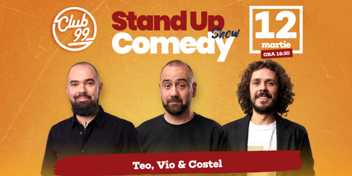 Stand up comedy la Club 99 cu Teo, Vio si Costel Show 1