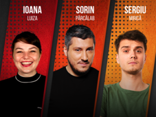 Stand up Comedy cu Sorin Parcalab, Ioana Luiza si Sergiu Mirica @ Si-Lounge