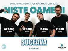 Suceava: Stand Up Comedy cu Niste Oameni