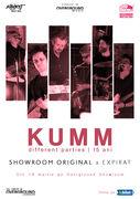 KUMM live | concert aniversar Different Parties - 15 ani