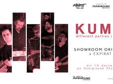 KUMM live   concert aniversar Different Parties - 15 ani