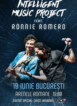 The Creation Tour 2021/ Intelligent Music Project feat. Ronnie Romero (se reprogrameaza)