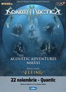 Sonata Arctica pe 22 noiembrie la Quantic