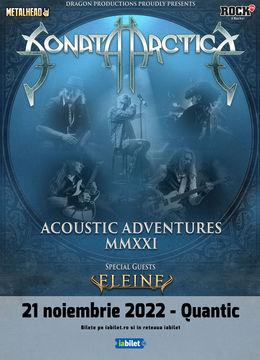 Sonata Arctica pe 21 noiembrie la Quantic