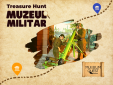 Museum Quest: Treasure Hunt la Muzeul Militar