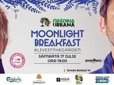 Moonlight Breakfast #liveintheGarden