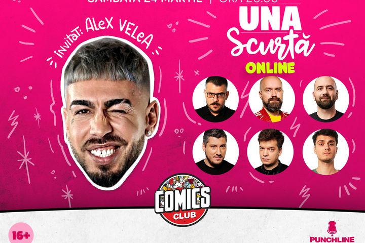 Una Scurtă cu Alex Velea LIVE!