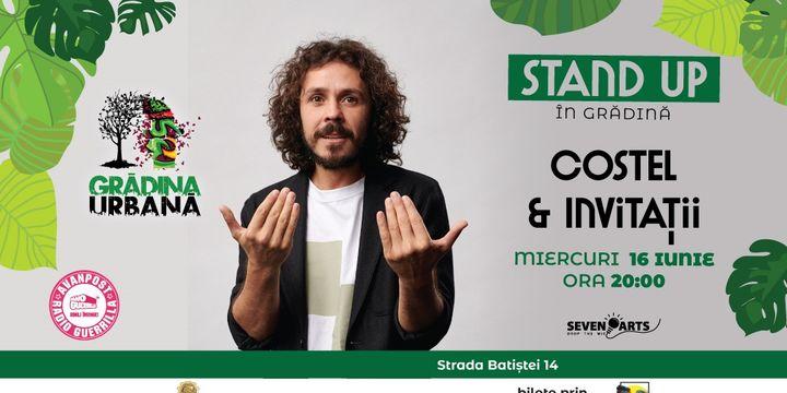 Costel & Invitații | Stand Up în Grădină
