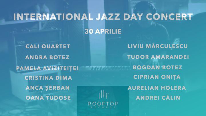 International Jazz Day - live jazz session by CALI Quartet & Friends