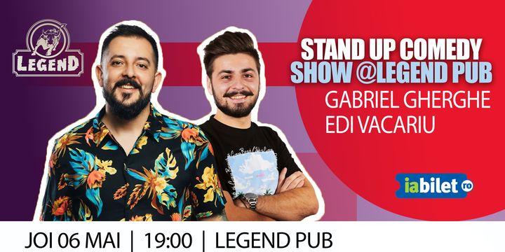 Iasi: Stand Up Gabriel Gherghe & Edi Vacariu
