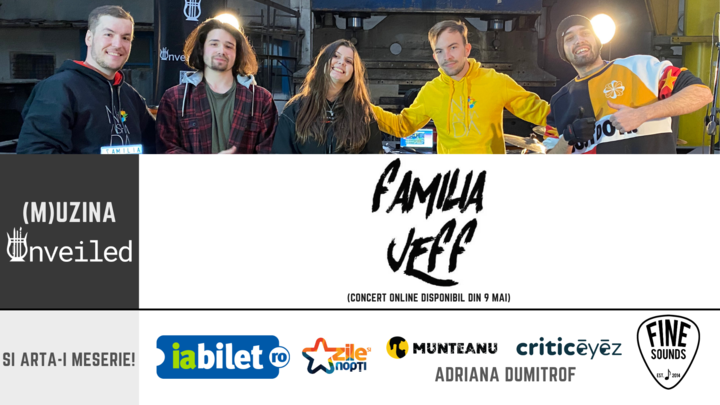 Concert online Familia Jeff