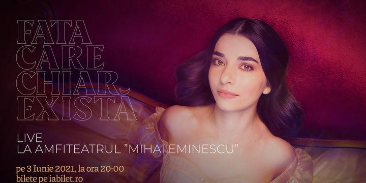 Alexandra Ușurelu LIVE la Teatrul de Vară Mihai Eminescu