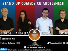 Stand-up Comedy cu Ardeleneșii la Downtown
