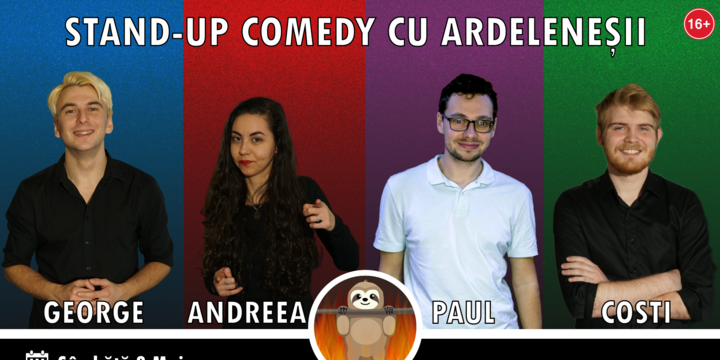 Stand-up Comedy cu Ardeleneșii la Downtown