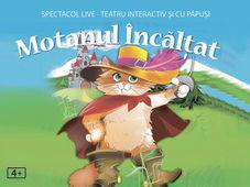 ,,Motanul încălțat'' la Grădina Monteoru