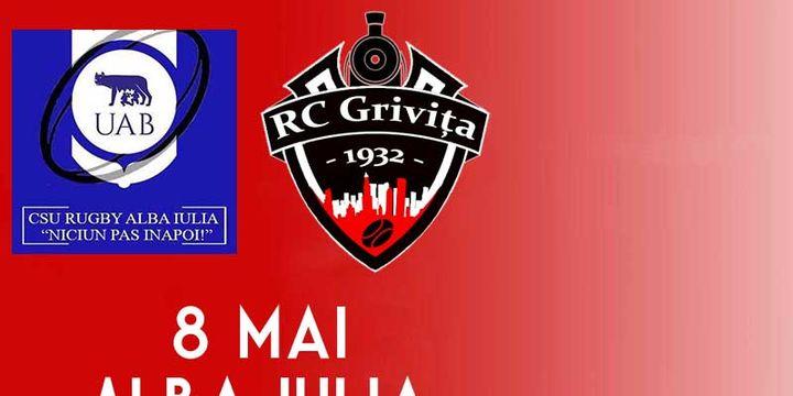 Alba Iulia: CSU Alba Iulia vs RC Grivita Bucuresti
