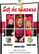 """Teatrul Rosu: """"Sot de vanzare"""""""