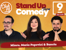 Stand up comedy cu Maria, Mincu si Banciu la Club 99