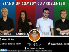 Stand-up Comedy cu Ardeleneșii în Florești