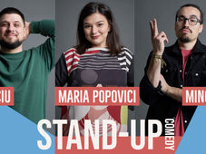 Suceava: Stand up comedy Maria, Mincu si Banciu