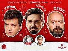 Stand-up cu Cristi, Toma și Natanticu la ComicsClub! Show 2