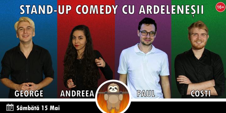 Stand-up Comedy cu Ardeleneșii la Atelier