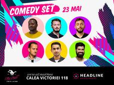 The Fool: Comedy Set cu Mane, Florin Gheorghe, Mukinka, Geo, Claudiu și Cîrje