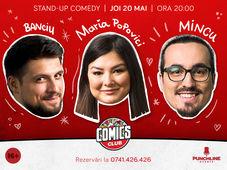 Stand-up cu Maria, Mincu și Banciu la ComicsClub! (Terasa)