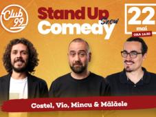Stand up Show cu Vio, Costel, Mincu - Malaele