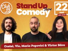 Stand up Show cu Vio, Costel, Maria Popovici - Dracea