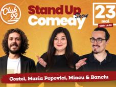 Stand up Show cu Maria Popovici, Costel, Mincu - Banciu Show 1