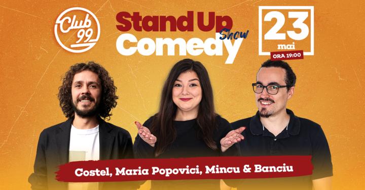 Stand up Show cu Maria Popovici, Costel, Mincu - Banciu Show 2