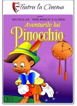 Aventurile lui Pinocchio la Grădina Urbană