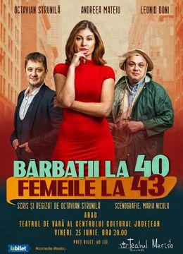 Arad: Barbatii la 40, femeile la 43