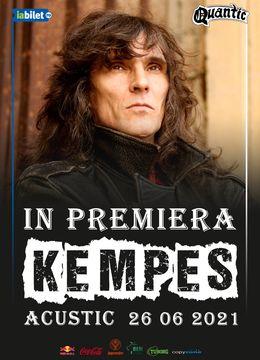 Kempes acustic in premiera