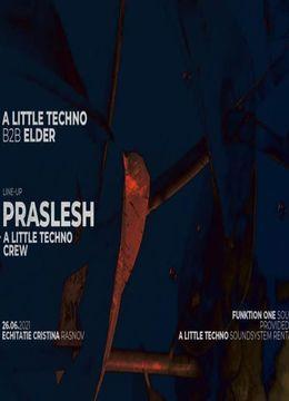 Râșnov: A Little Techno b2b Elder w. Raresh B2B Praslea