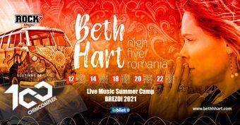 Beth Hart - High Five România - Summer Camp Brezoi