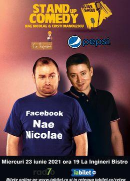 Nae Nicolae & Cristi Manolescu - Live Stand-up Show!