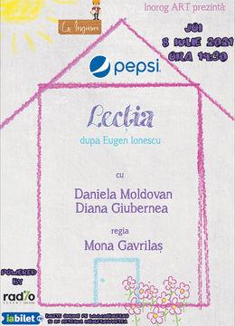 Lecția după Eugen Ionescu, cu Daniela Moldovan și Diana Giubernea
