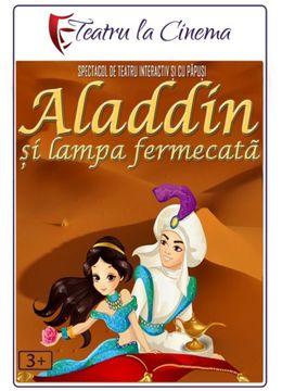 Aladdin și lampa fermecată la Rowa Garden - Parc Herăstrău