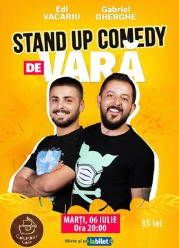 Oradea: Stand Up Comedy de Vară   Gabriel Gherghe & Edi Vacariu