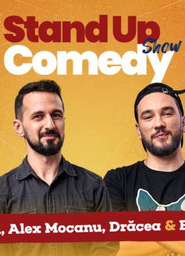 Stand up comedy la Club 99 cu Maria Popovici - Bogdan Malaele, Mocanu si Dracea