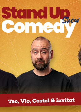 Stand up comedy la Club 99 cu Teo, Vio si Costel Show 2