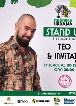TEO & INVITAȚII | Stand Up în Grădină